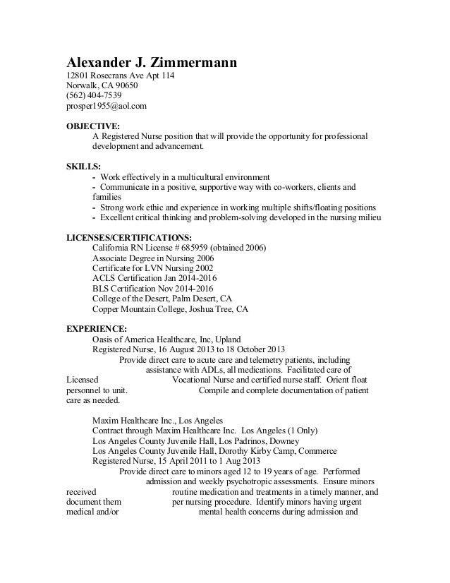 hospital switchboard operator sample resume sample format of no ...