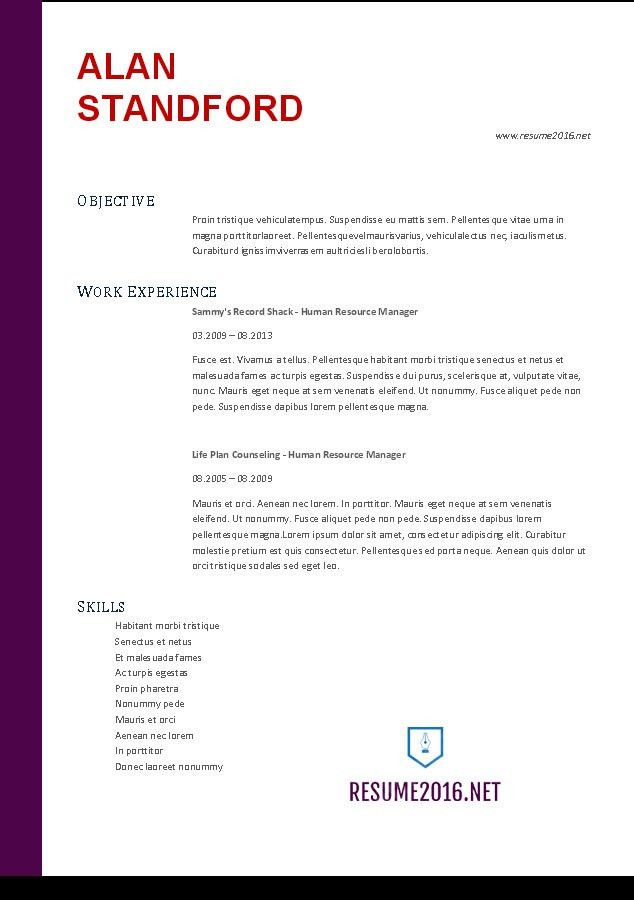 Accountant Resume Sample 2016 •