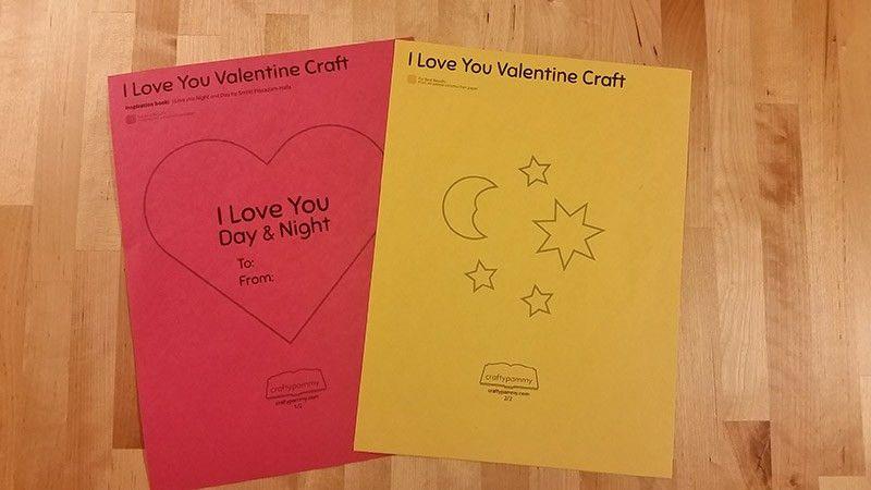 Valentines Day Heart Craft | Kids Crafts | Crafty Pammy