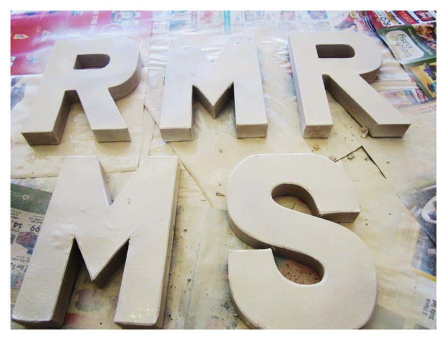 I Do {How To's} : Mr. & Mrs. Ombre Neon Signs - LVL Weddings & Events