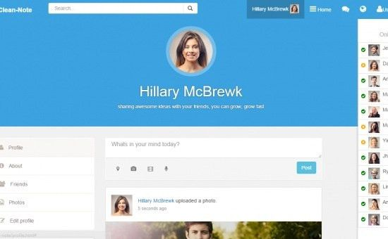 Showcase of Bootstrap framework themes and templates html css js