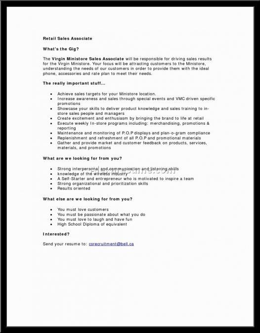 Entry Level Retail Resume Sales Lewesmr With Sample For Associate ...