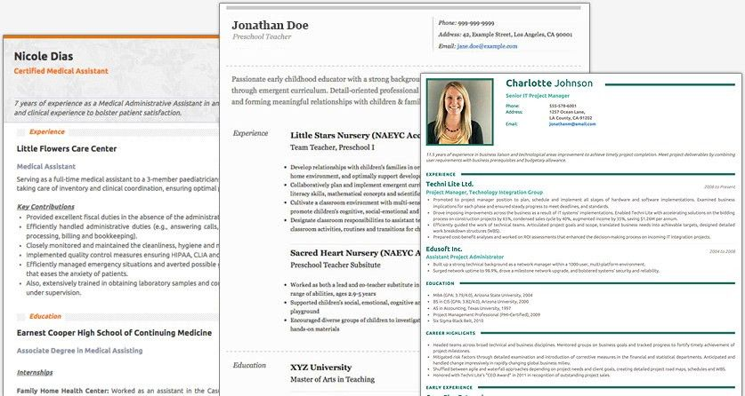 Download Creative Resume Builder | haadyaooverbayresort.com