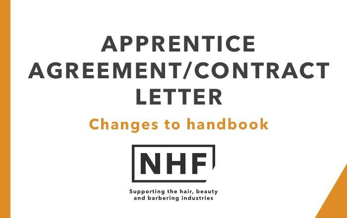 Apprenticeship Agreement Contract Template Letter - NHF