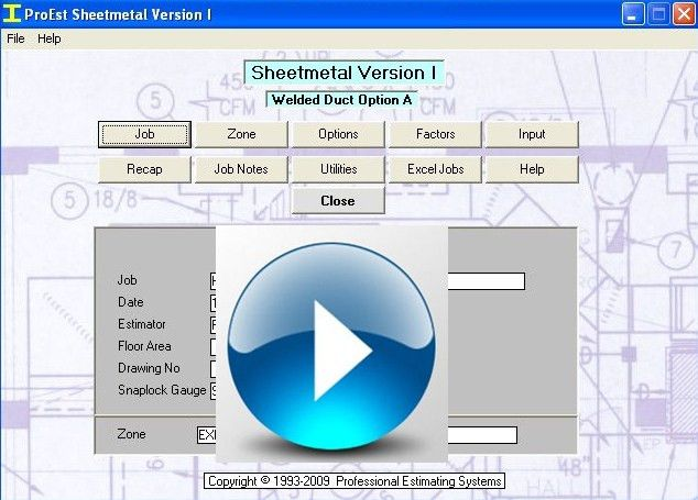 Pipe and Sheet Metal Estimating HVAC software, Estimating Software ...