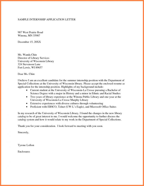 Curriculum Vitae : Sample Cover Letter Free Professional ...