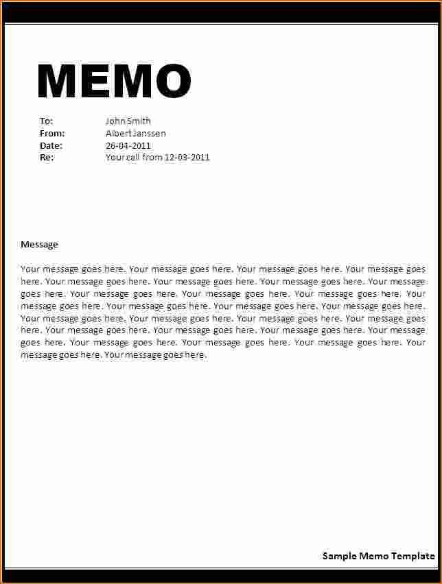 letter incident report template memo rejection business format ...