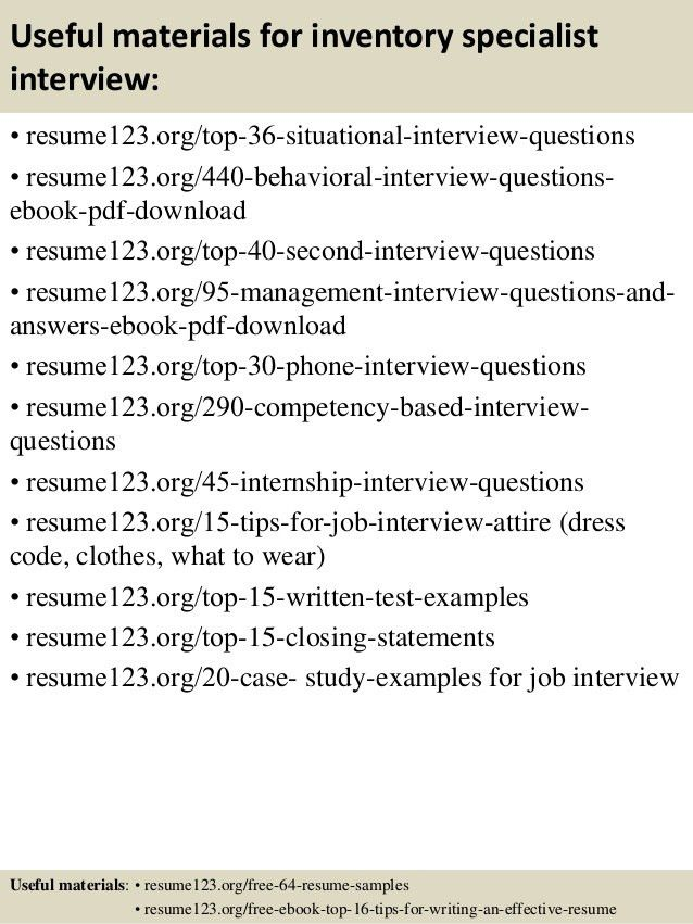 logistics inventory manager resume examples inventory control ...