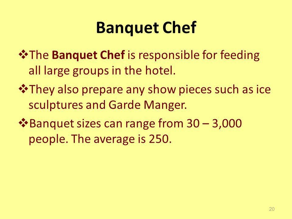 The Banquet Department Risa McCann - ppt video online download