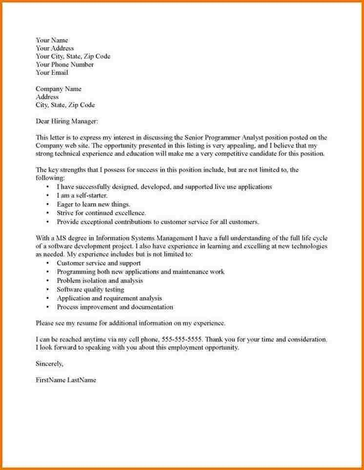 Sample cover letters plus suggested formats Free sample cover ...