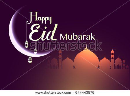 Happy Eid Mubarak Stock Images, Royalty-Free Images & Vectors ...