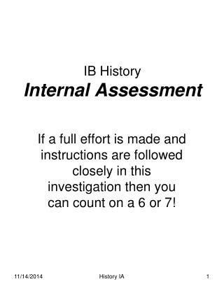 Ib History Coursework Examples - Essay for you