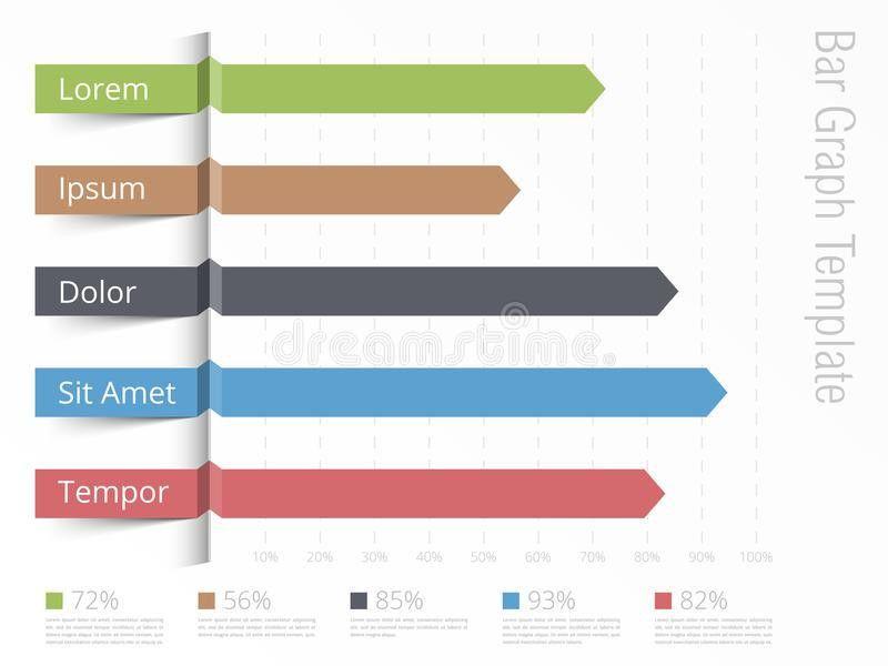 Bar Graph Template Stock Vector - Image: 64650812