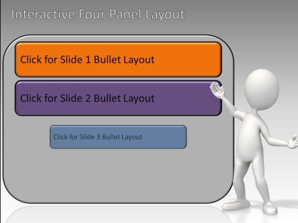 Interactive Panels Toolkit For PowerPoint