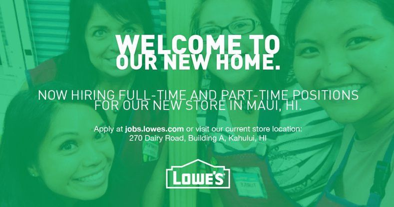 Lowes Employment Opportunity. statement from lowes companies inc ...