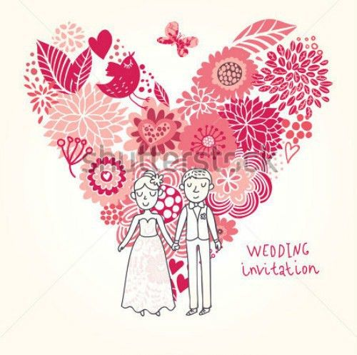 Free Wedding Invitation Clip-art Ideas