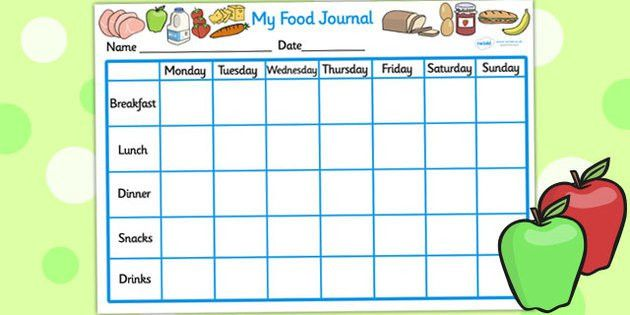 My Healthy Eating Food Journal - healthy eating, healthy eating ...