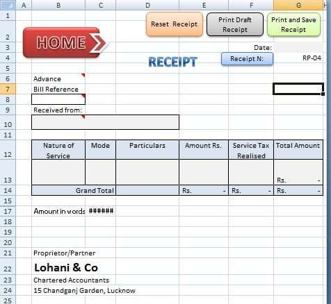 Accounting Forms In Excel. Accounting Books For Small Business ...