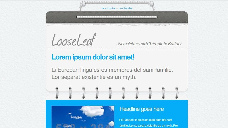 Top 50 Email Marketing & Newsletter Templates (Mobile-Friendly + ...