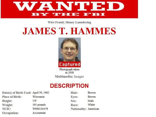 Wanted criminal 'Bismarck' James T. Hammes Appalachian Trail figure