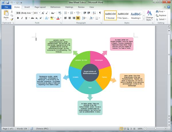 Graphic Organizers Templates for Word