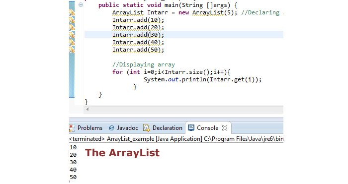 4 Demos to Understand Java ArrayList Easily | Tutorials Collection