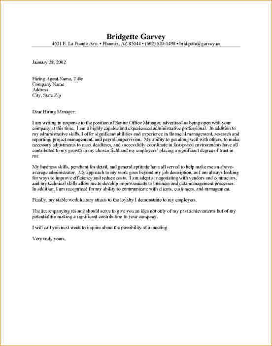 Admin cover letter examples - Business Proposal Templated ...