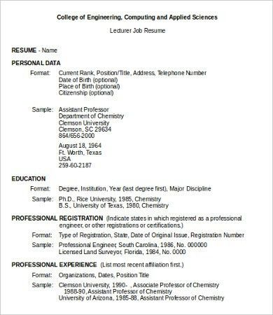 Examples Of Job Resumes. First Job Resume Examples 93 Awesome Job ...