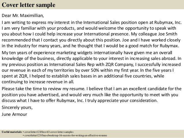 communications director cover letter