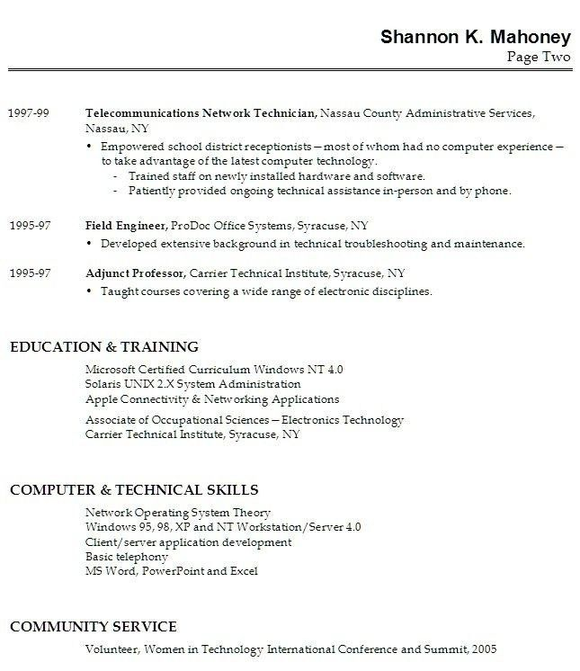 High School Student Resume Examples No Work Experience - Best ...