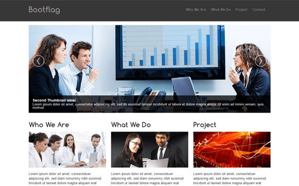 Bootflag - Company Profile | Bootstrap Business & Corporate ...