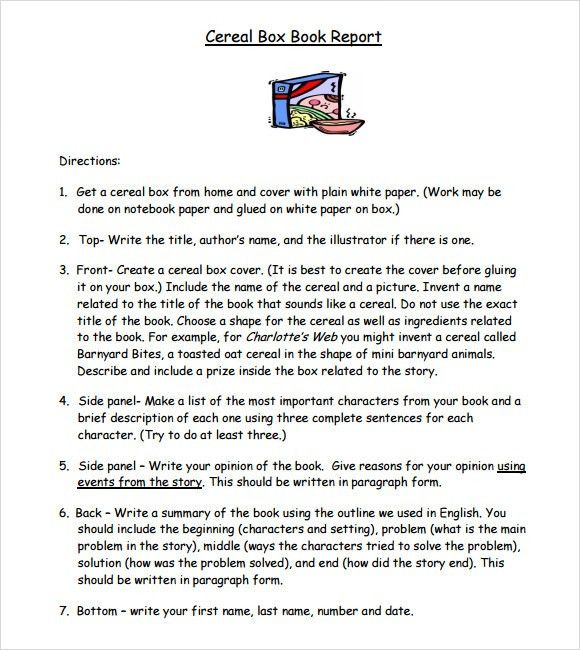 Novel book report example | How to write cause and effect essay ...