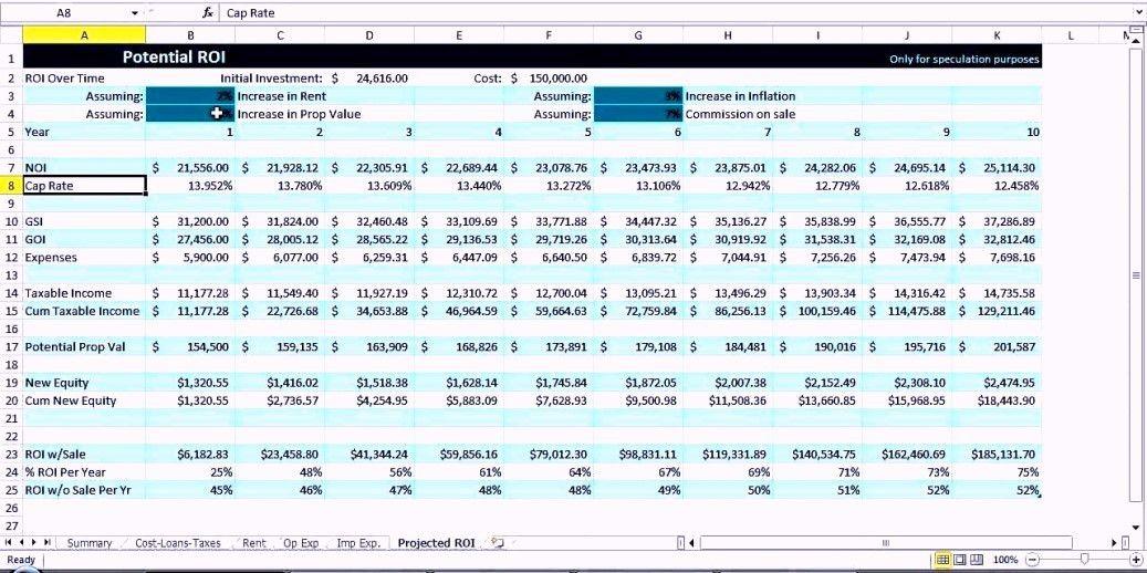 Cost Benefit Analysis Template Xls - Template Update234.com ...