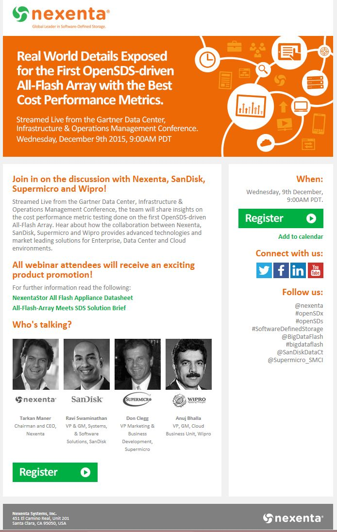 Webinar Invitation Email Template - Themesflip.Com