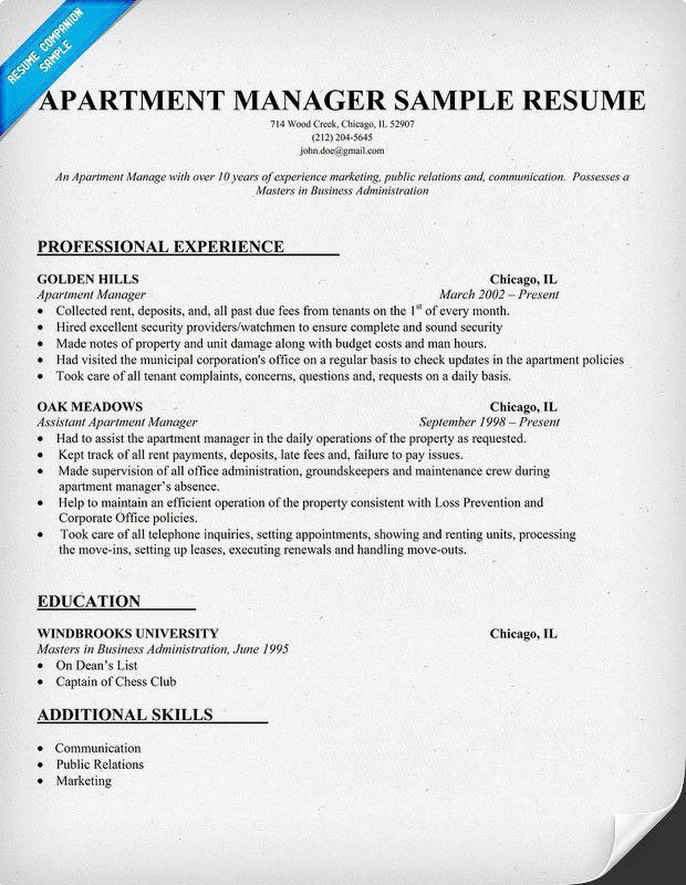 Charming Property Manager Duties For Resume 82 On Resume Download ...
