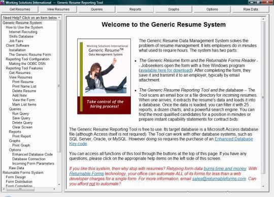 Generic Resume System - Free download and software reviews - CNET ...