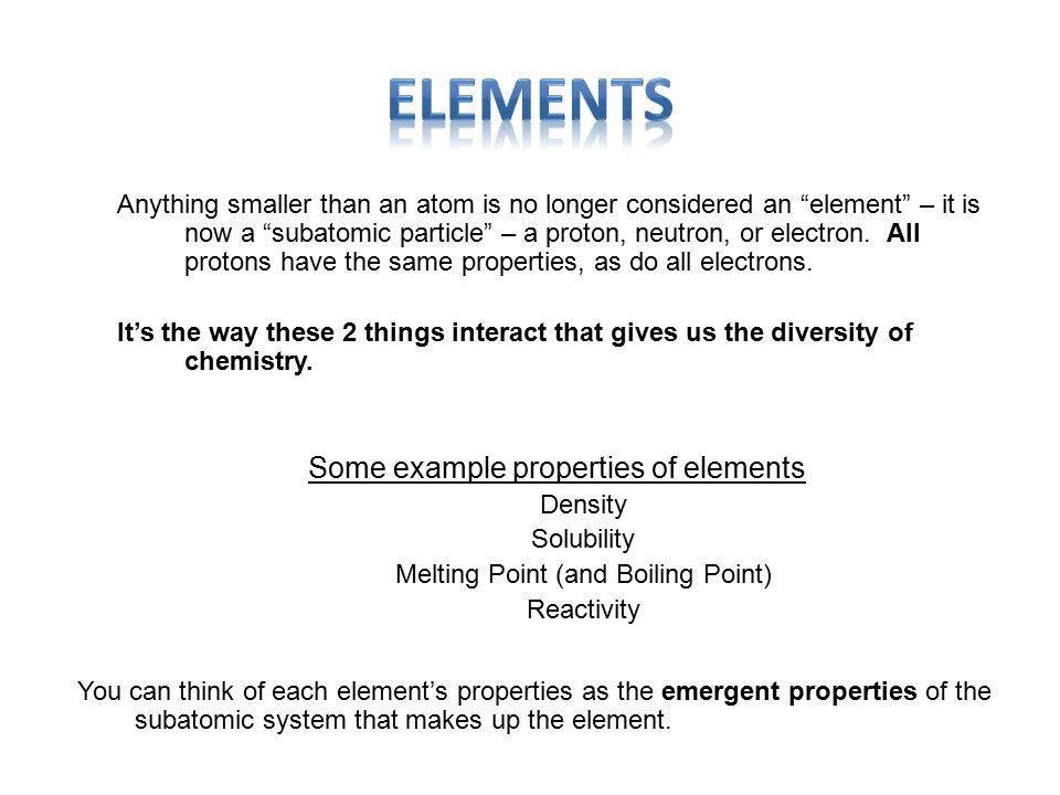 Chapter 2 Basic Chemistry Atomic Theory Elements & Bonding - ppt ...