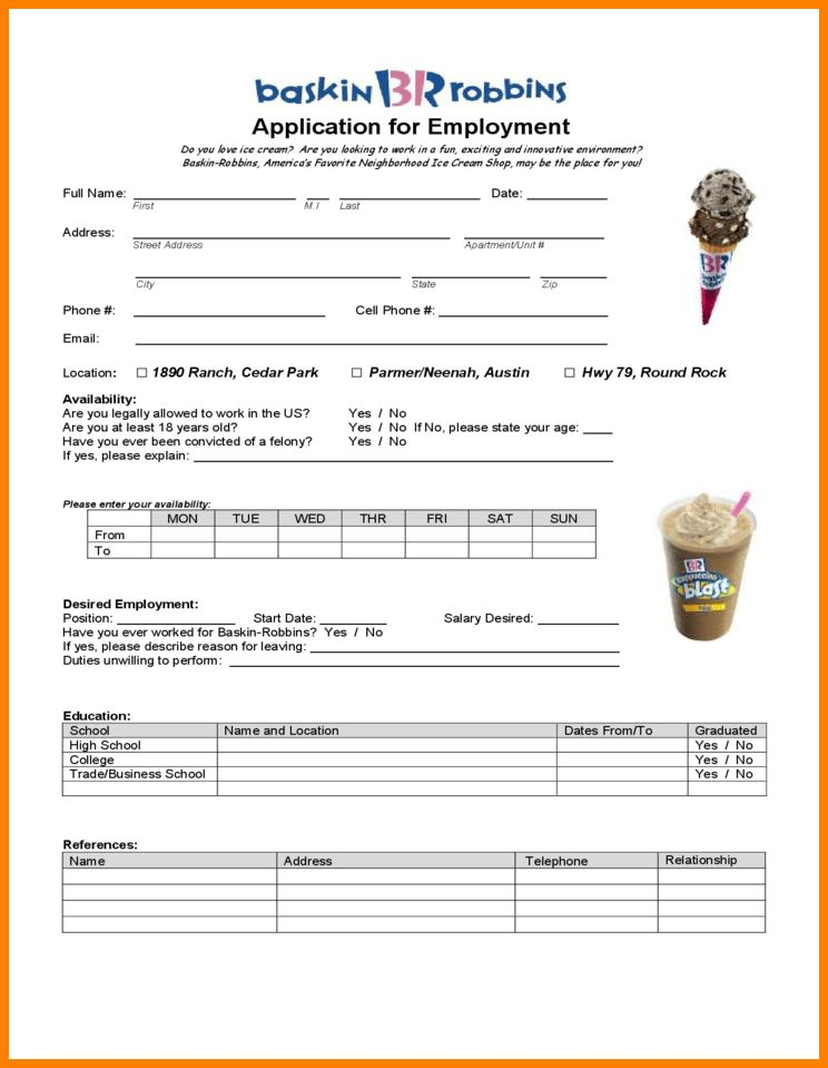 5+ robbins job applications   barber resume
