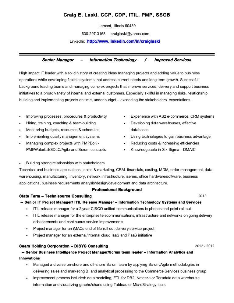 Lean Practitioner Sample Resume ophion