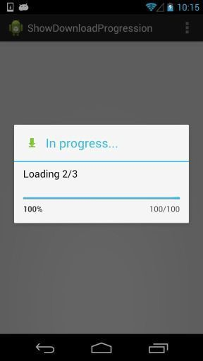 Android: Download multiple files showing Progress Bar » the Open ...