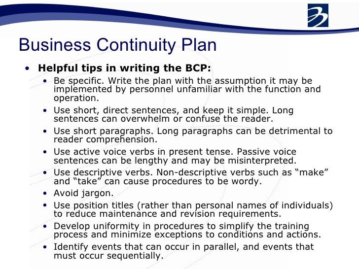 Business Continuity Workshop Final