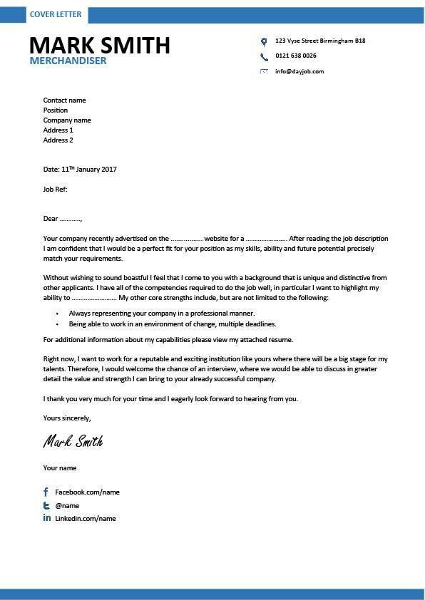 resume for merchandiser internship resume cover letter mind ...