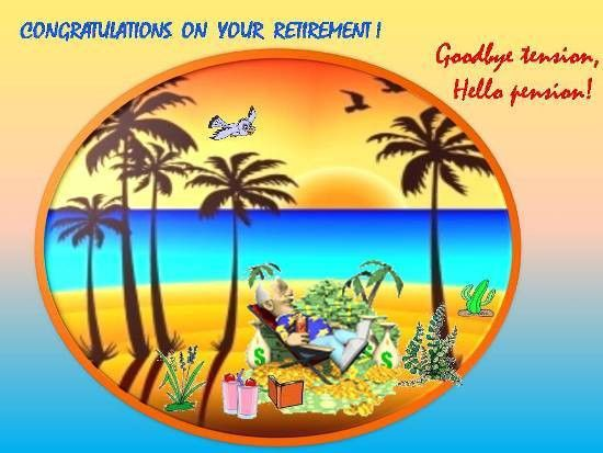 Wishes On Your Loved Ones Retirement. Free Retirement eCards   123 ...