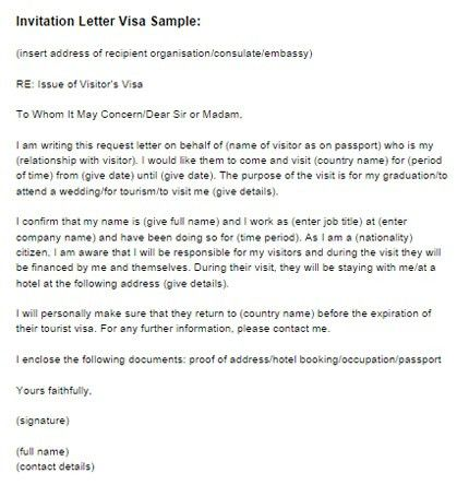 Invitation Letter Sample For Visa Switzerland Wedding Invitation ...