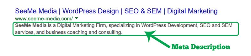 Meta Descriptions - Improving click through rates on SERP - SeeMe ...