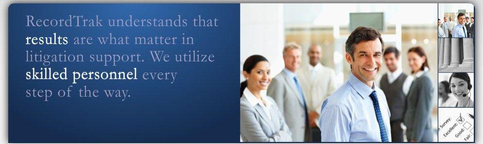Litigation Support Solutions | Record Retrieval |RecordTrak