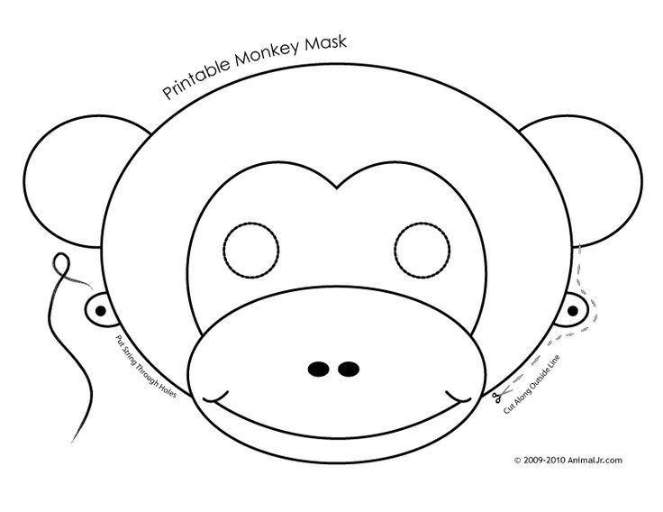 12 best majom images on Pinterest | Monkey mask, Masks and Animal ...