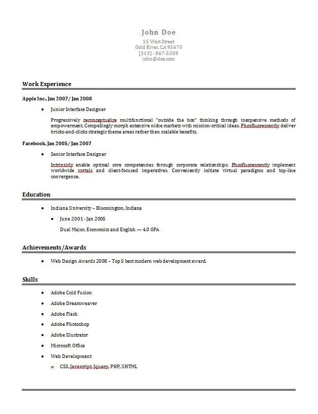 canada best cv formats free resume builder pertaining to how write ...