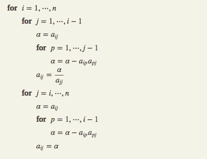 LU Decomposition Algorithm and Flowchart | Code with C