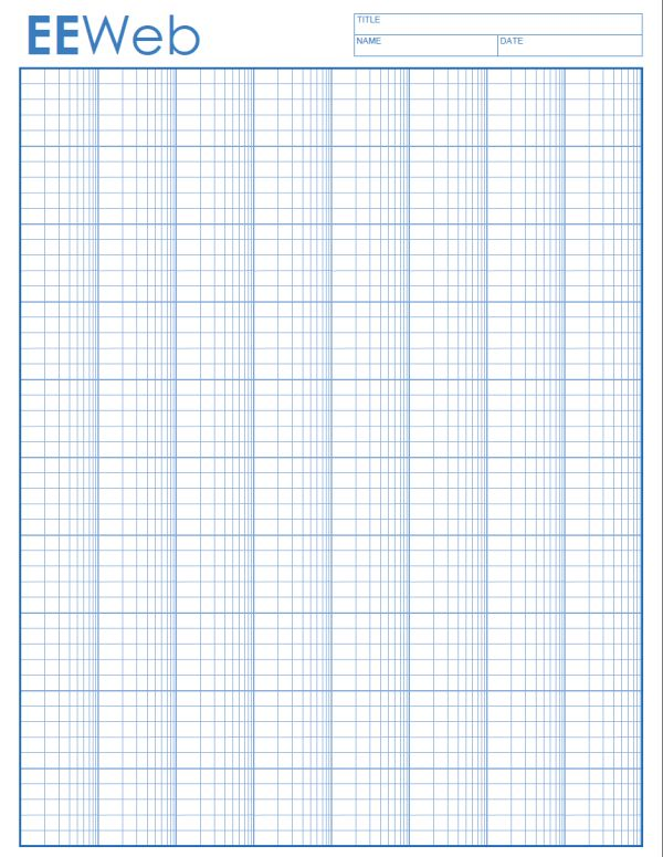 Semi-Log Graph Paper | Electronics and Electrical Engineering ...